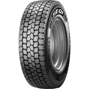 4 New Pirelli Tr 01 245 70r19 5 Load H 16 Ply Drive Commercial Tires
