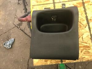 1998 2001 Dodge Ram 1500 2500 3500 Dark Grey Dash Mounted Cubby Trim Bezel Oem