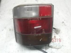 Passenger Right Tail Light Canada Fits 89 95 Justy 420670