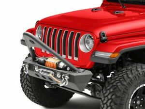 Redrock 4x4 Stubby Winch Front Bumper With Led And Stinger For Wrangler Jl 18 20