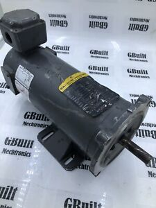 Baldor Cdp3330 1 2hp 0 5hp Dc Motor 90vdc 4 8a 1750rpm 5 8 d Shaft