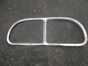 Vintage 1937 38 39 40 Ford Coupe Chrome Rear Window Frame