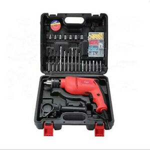 Heavy Duty 710w Electric Corded Impact Hammer Drill With Drill Bit Set Tool Kit