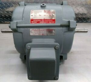 Exp Prf General Electric 1 1 2 Hp 3 Dual Sft Indu Mtr reduce Price Must Sell