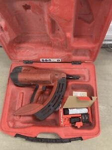 Hilti Gx 100 E Fully Automatic Gas actuated Fastening Tool Nail Gun