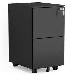 Mobile File Cabinet With Lock Commercial Vertical Cabinet For Legal letter Size