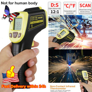 Non contact Digital Laser Ir Infrared Temp Meter Temperature Gun Thermometer New