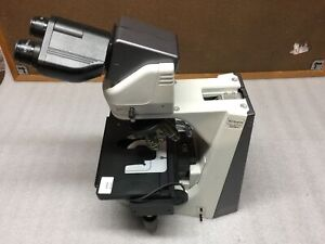 Nikon Eclipse 55i Light Microscope Auto stage C te Binocular Head 3x Obj Read