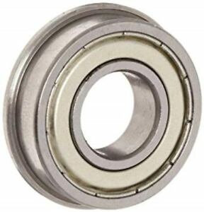 Fr4zz 10 Pcs Flanged Precision Ball Bearing factory New Ships From The U s a