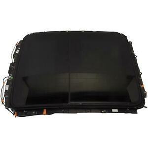 84105619 84105618 84203530 Dual Panel Sunroof Assembly Black 16 18 Cadillac Ct6