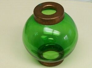 2 5 Green Glass Ball For Weathervane Or Lightening Rods
