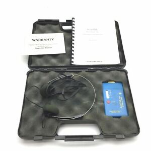 Superior Signaling Accutrak vpe Ultrasonic Leak Detector With Case Headphones