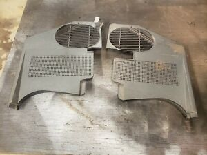 1968 Corvette Kick Panels Original Pair 3930495 3930496 Gm 68 Only