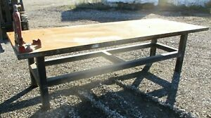 Steel Welding Layout Table Work Bench 4 X 10 X 34 H B212dh