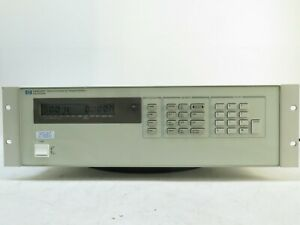 Hp Agilent 6624a Dc Power Supply 4 Outputs 0 50v