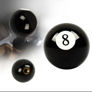 Manual Transmission No 8 Billiard Ball Custom Gear Shifter Shift Knob Car Lever