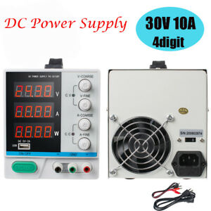 30v 10a Adjustable 4 digital Led Display Dc Power Supply Variable For Laboratory