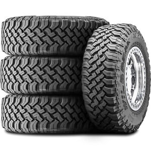 4 New Falken Wildpeak M T 01 Lt 35x12 50r17 121q E 10 Ply Mt Mud Tires