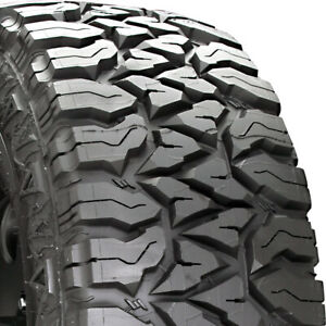2 New Goodyear Fierce Attitude M t Lt 265 70r17 121p E 10 Ply Mt Mud Tires