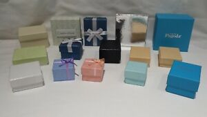 15 Assorted Color Sizes Jewelry Rings Bracelets Gift Boxes Filled New