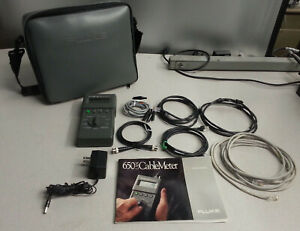 Fluke 650 Lan Cablemeter With Case And Manual