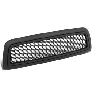 Honeycomb Front Bumper Hood Grille Cover Replace For 2009 2012 Dodge Ram 1500