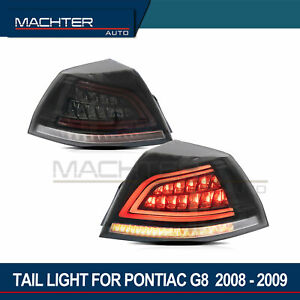 Machter 2pc Led Tail Lights For Pontiac G8 2008 2009 Holden Commodore Ve 2006 13