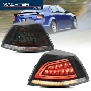 Smoked Dynamic Signal Led Tail Lights Fit For Pontiac G8 Gt Gxp 2008 2009