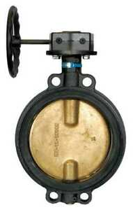 Milwaukee Valve Mw 333e 8 Butterfly Valve wafer size 8 In
