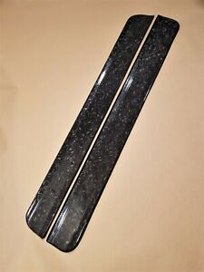 Real Forged Carbon Fiber Bmw E36 Coupe Convertible Set Of Door Sill Plates