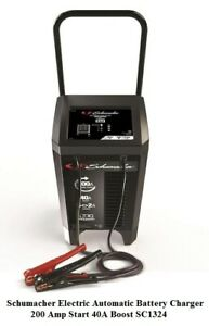 Schumacher Electric Automatic Battery Charger 200 Amp Start 40a Boost Sc1324