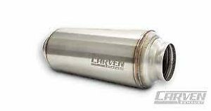 Carven Exhaust Tr series 3 Performance Muffler free Shipping