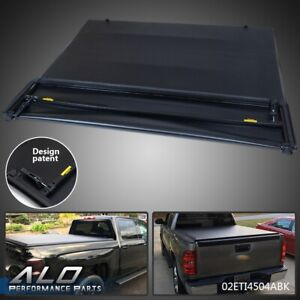 Four Fold Tonneau Cover For 2007 2013 Chevy Silverado Gmc Sierra 1500 5 8ft Bed