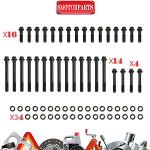 Cylinder Head Bolts Kit For Sbc Engines Oe Lt afr brodix 8 10 11 11xb Heads