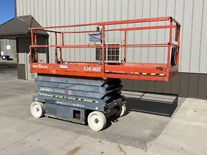 2012 Skyjack 4632 Electric 32 Scissor Lift Aerial Manlift Platform Jlg Iowa