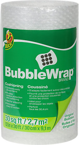 Du Ck Brand Bubble Wrap Original Protective Packaging 12 Inches Wide X 30 feet L