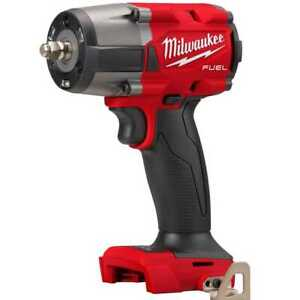 Milwaukee 2960 20 M18 Fuel 3 8 Midtorque Impact W friction Ring tool Only New