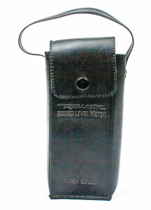 Realistic Soft Leather Case For Sound Level Meter No 33 2050
