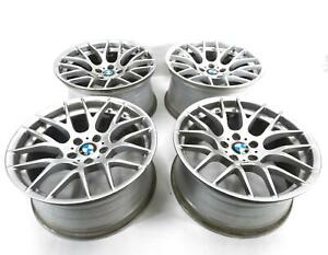 2011 2013 Bmw 1m M3 E82 E90 E91 E92 E93 19x9 19x10 M Spoke Wheel Rim Set