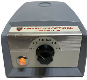 American Optical ao Microscope Transformer power Supply 1051 Tested