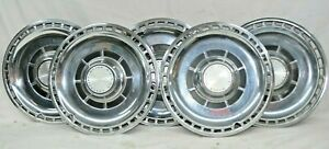 1969 Chevrolet Chevy Division Chevelle Hubcaps Wheel Cover Hubcap Used Set Of 5