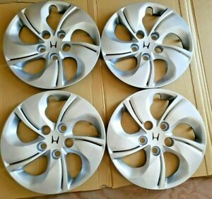 4 New Honda Civic 06 16 15 Bolt On Hub Caps Full Wheel Covers