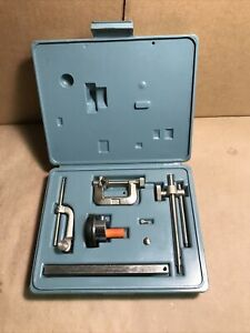 Ames 22a Universal Jeweled Dial Test Indicator Gage Set excellent Condition