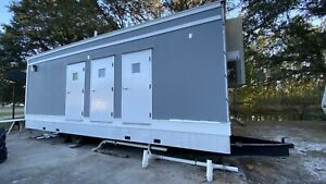 New Mobile Shower Trailer With Ac Heat
