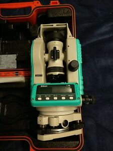 Nikon Ne 100 Electronic Digital Theodolite Construction