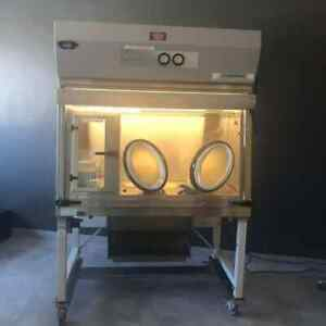 Nuaire Pharmagard Aseptic Isolator Chemical Hood used