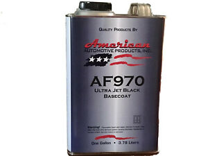 Jet Black Base Coat One Gallon With One Gallon Reducer