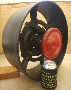 16 Inch Clutch Pulley For 6hp Fairbanks Morse Z Old Gas Engine Fm Motor Nice