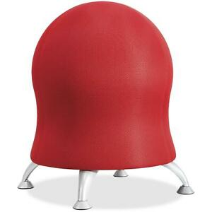 Safco Saf4750ci Zenergy Ball Chair 1 Each Crimson Red