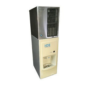 Hoshizaki Km 350maj Air cooled Ice Maker W Db 130c Hotel motel Dispenser 115vac
